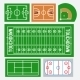 Sport Fields Set - GraphicRiver Item for Sale
