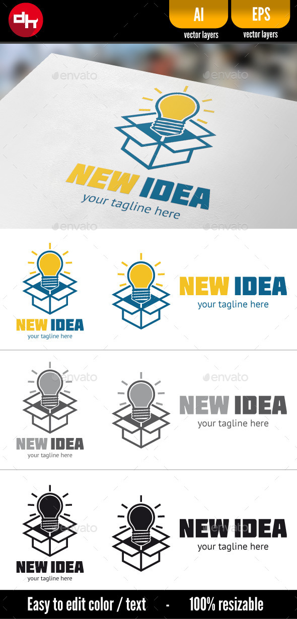 GraphicRiver New Idea 10781897