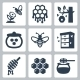 Honey related vector icons set - GraphicRiver Item for Sale
