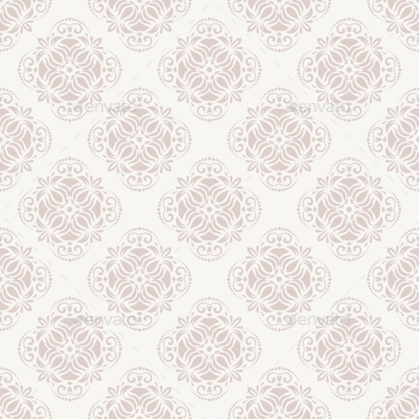 GraphicRiver Damask Seamless Vector Pattern 10782095