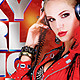 Flyer Sexy Girl Music Night DJ - GraphicRiver Item for Sale