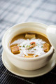 prawn soup with croutons and cream - PhotoDune Item for Sale