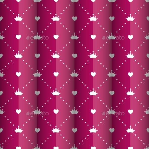 GraphicRiver Princess Seamless Pattern Background 10782452