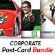 Postcard Print Templates Bundle