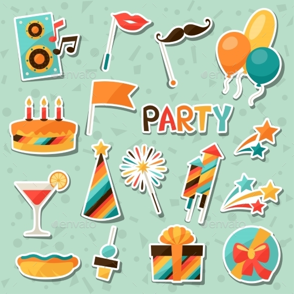 GraphicRiver Celebration Party Set 10782885