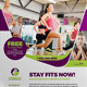 Sport & Fitness Flyer Vol.06 - GraphicRiver Item for Sale