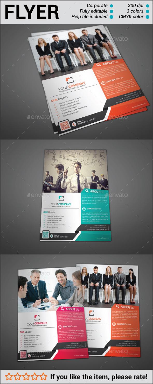 GraphicRiver Multipurpose Corporate Flyer 10783126