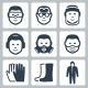 Vector Job Safety Icons Set - GraphicRiver Item for Sale