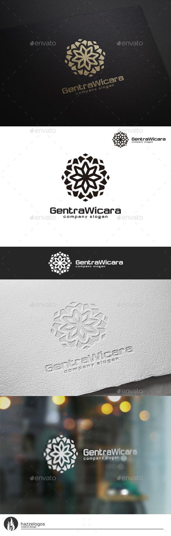 GraphicRiver Gentra Wicara Logo 10783469