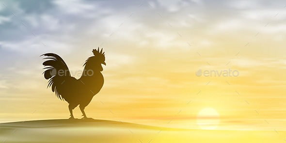 GraphicRiver Rooster 10783647