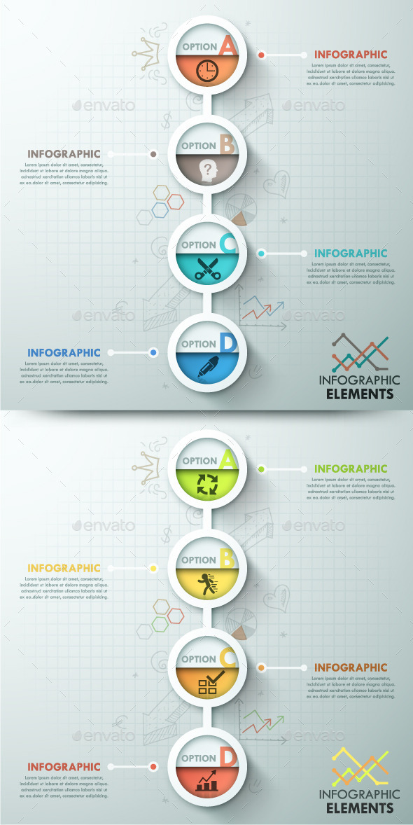 GraphicRiver Modern Infographic Template 2 Items 10783812