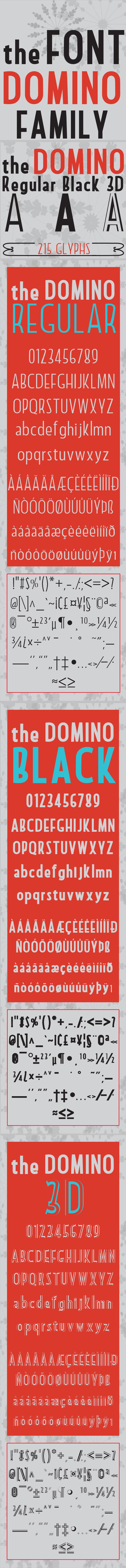 GraphicRiver Domino Font 10783819