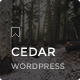 Cedar - Responsive WordPress Blog Theme - ThemeForest Item for Sale