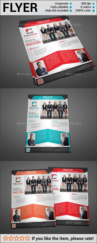 GraphicRiver Multipurpose Corporate Flyer 10783993