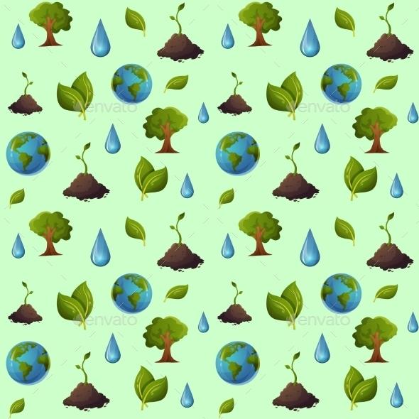 GraphicRiver Eco Pattern 10784188