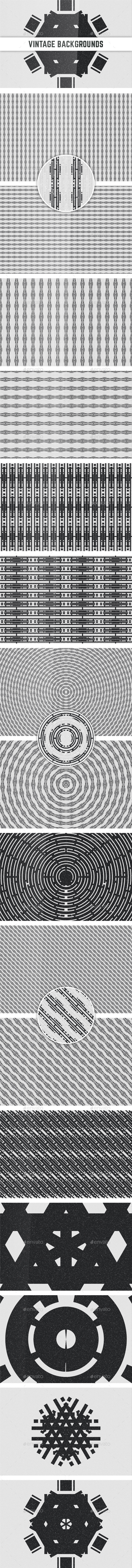 GraphicRiver Vintage Backgrounds 10784325