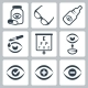 Vector Optometry Icons Set - GraphicRiver Item for Sale