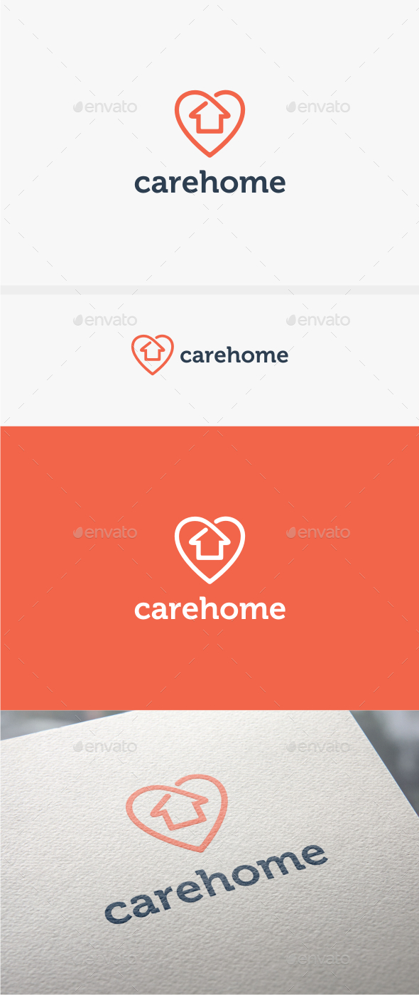 GraphicRiver Care Home Logo Template 10784400
