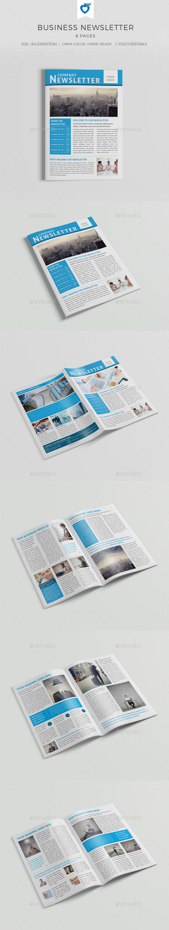 GraphicRiver Business Newsletter 10784972