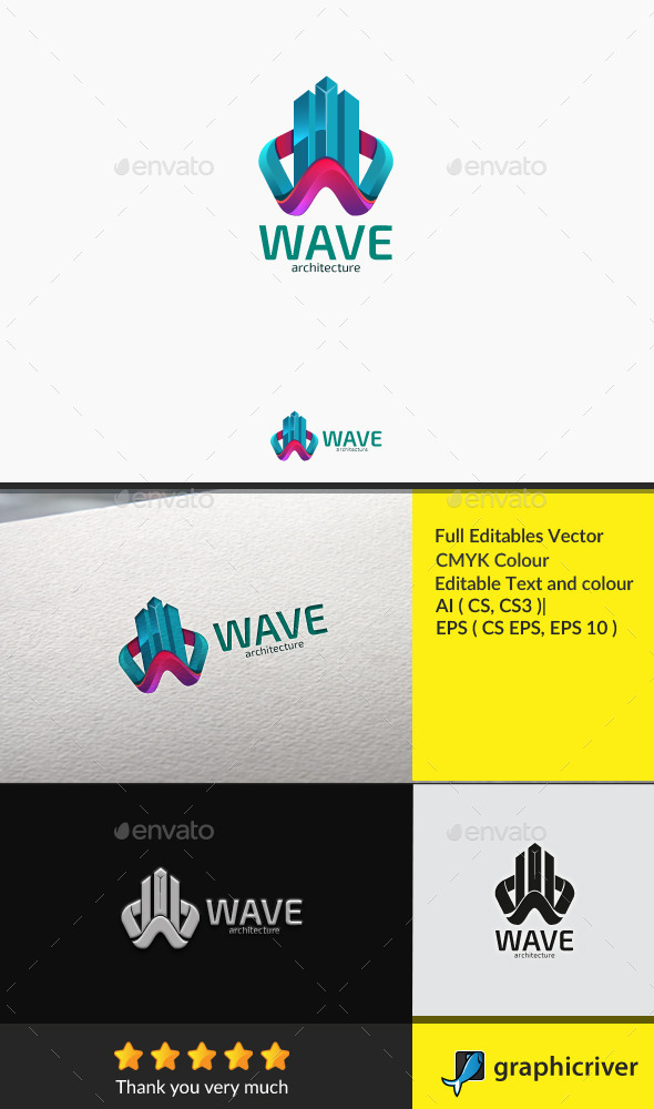 GraphicRiver Wave Construction 10785061