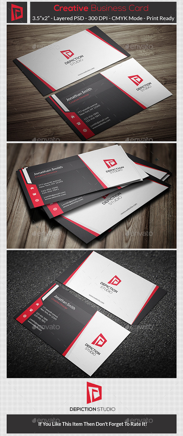GraphicRiver Creative Business Card 10785192