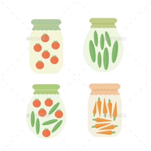 GraphicRiver Vegetable Jar 10785368