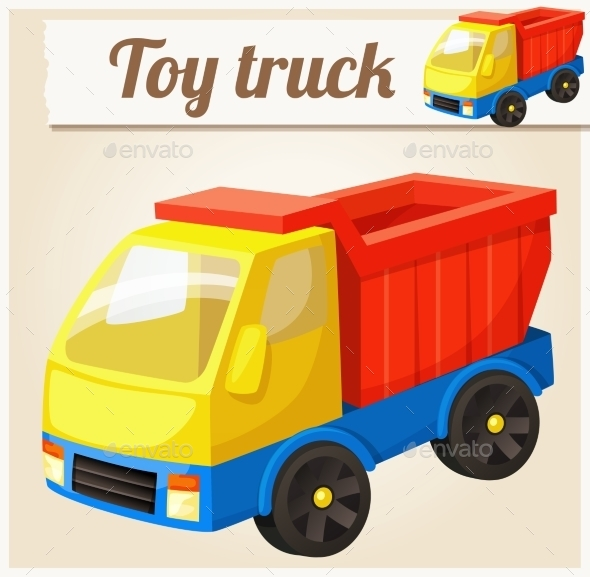 GraphicRiver Toy Truck 10785741