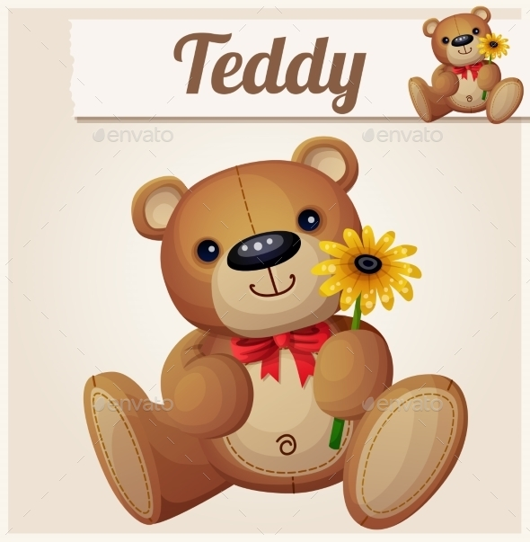 GraphicRiver Teddy Bear 10785754
