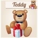 Teddy Bear with Gift - GraphicRiver Item for Sale