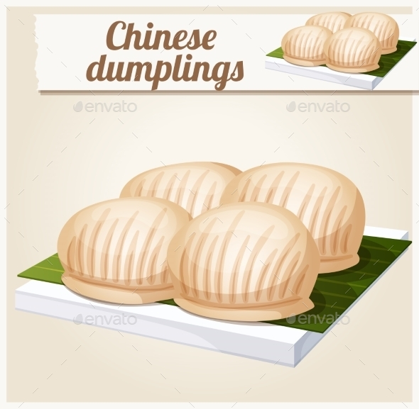 GraphicRiver Chinese Dumplings 10785776