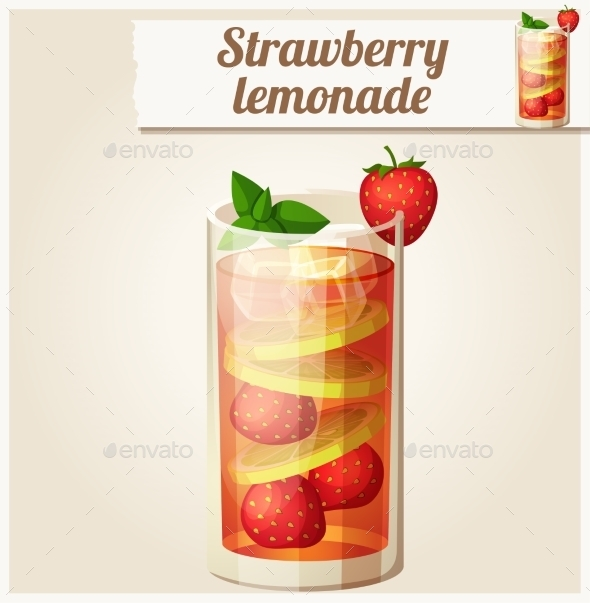 GraphicRiver Strawberry Lemonade 10785783