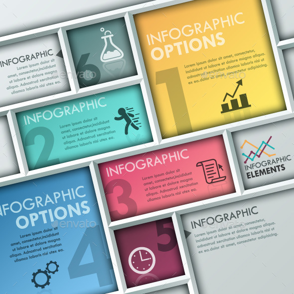 GraphicRiver Modern Infographic Paper Template 10785845
