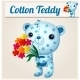 Blue Cotton Teddy Bear - GraphicRiver Item for Sale