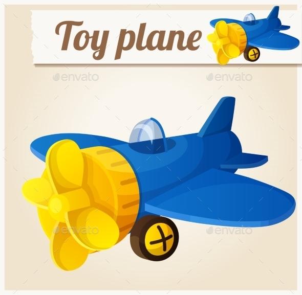 GraphicRiver Toy Plane 10785855