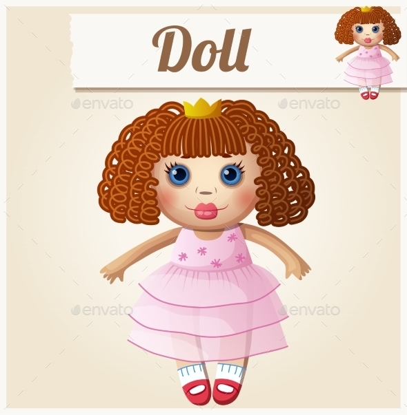 GraphicRiver Girl Doll 10785891
