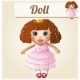 Girl Doll - GraphicRiver Item for Sale