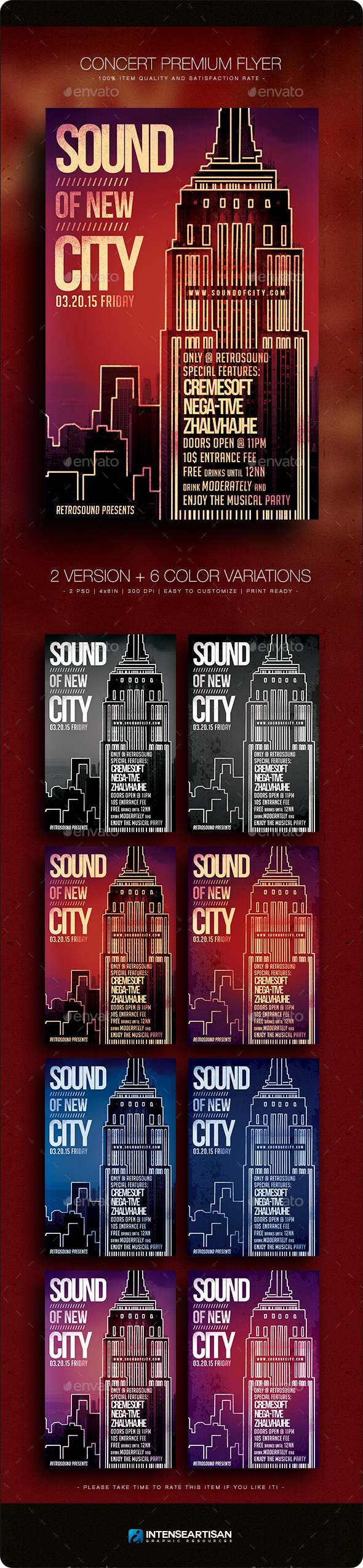 GraphicRiver Concert Premium Flyer V.6 10786050