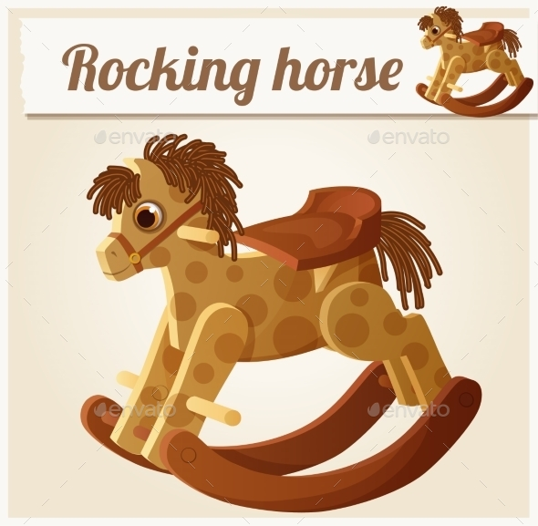 GraphicRiver Rocking Horse 10786054