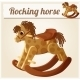 Rocking Horse - GraphicRiver Item for Sale