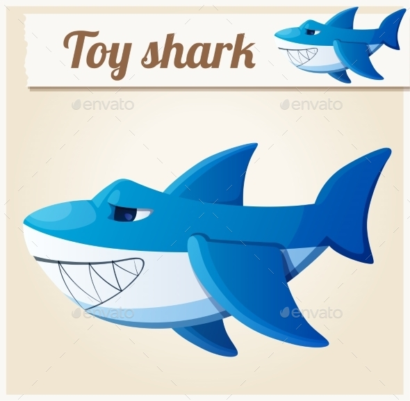 GraphicRiver Toy Shark 10786057