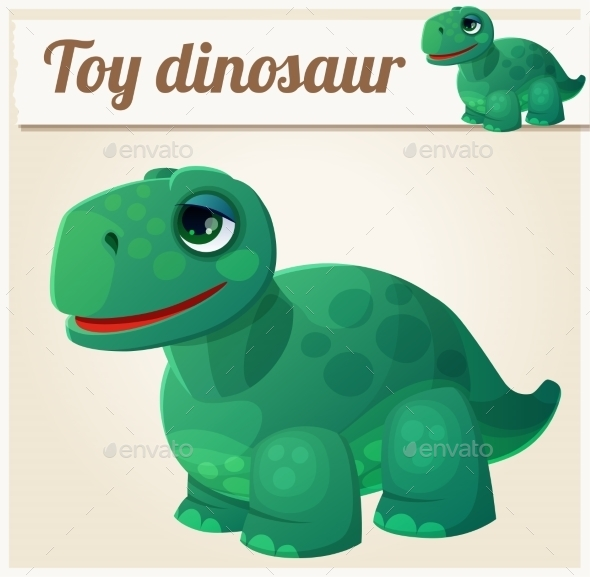 GraphicRiver Toy Dinosaur 10786058