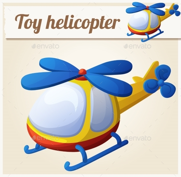 GraphicRiver Toy Helicopter 10786062