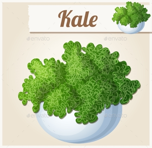 GraphicRiver Kale in Bowl 10786064