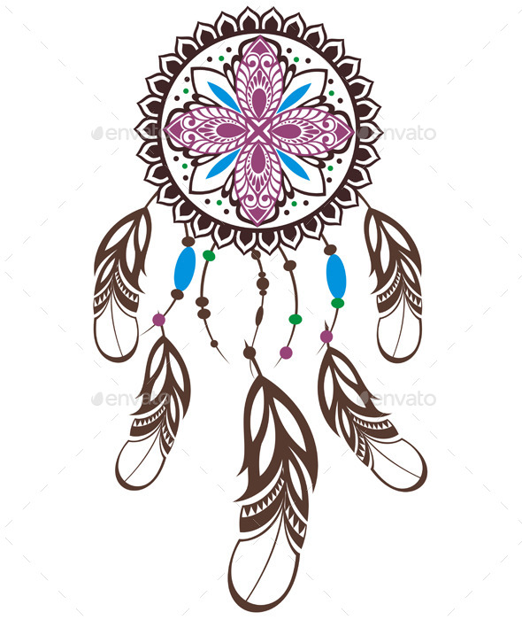 GraphicRiver Indian Dream Catcher 10786165