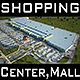 Mall M1, Full Textured Scene (Render Ready)