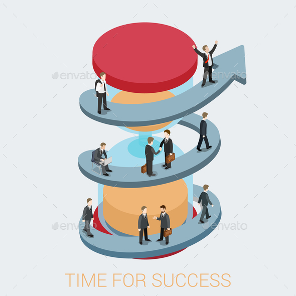 GraphicRiver Time Success Infographic 10787692