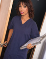 Health Care Worker Enters Nursing Intern Medical Chart Clipboard - PhotoDune Item for Sale