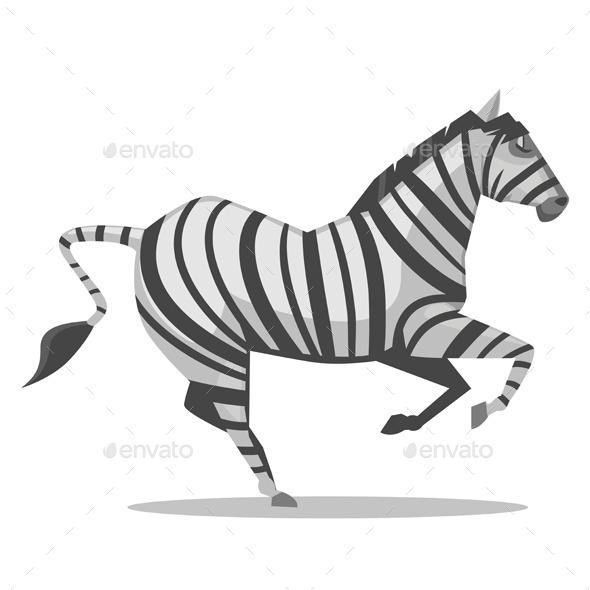 GraphicRiver Zebra Cartoon 10788011