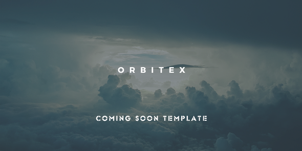 ThemeForest Orbitex Concept Responsive Coming Soon Template 10752946