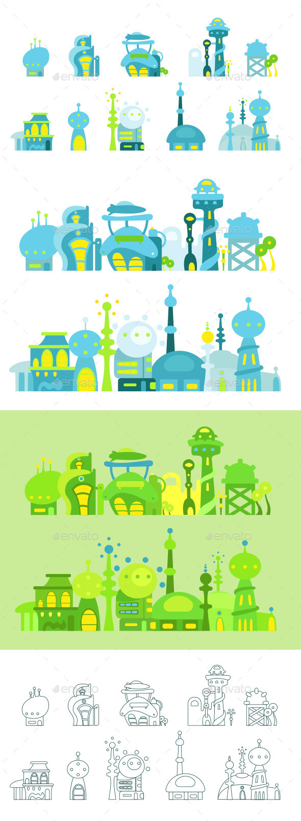 GraphicRiver City Future Fantastic 10788258